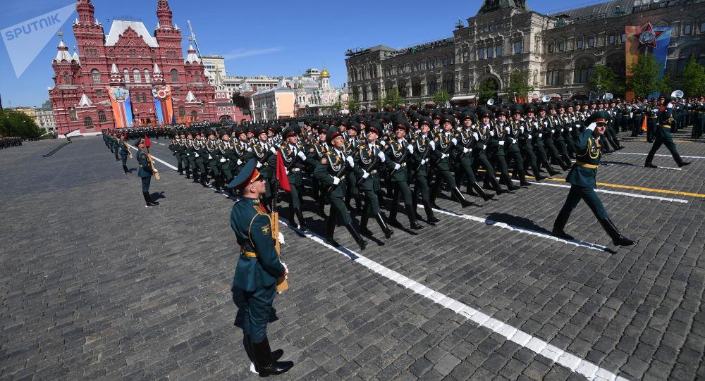Oslavy dne Vítězství v Moskvě