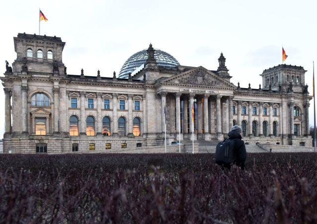 Budova Říšského sněmu v Berlíně