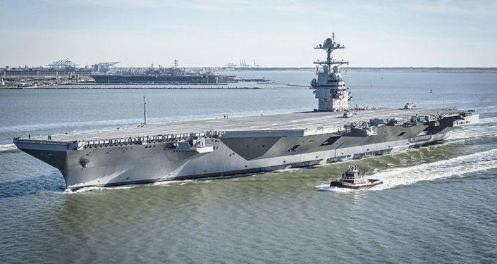 Americká letadlová loď CVN-75 Gerald R. Ford