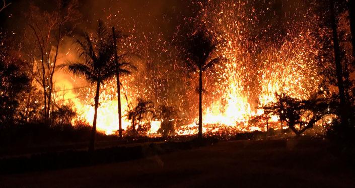 Vulkán Kilauea