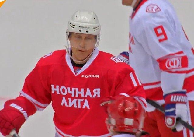 Putin hokej