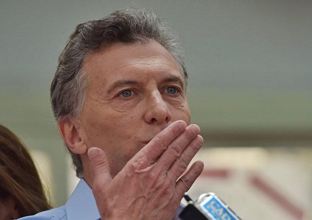 Argentinský prezident Mauricio Macri