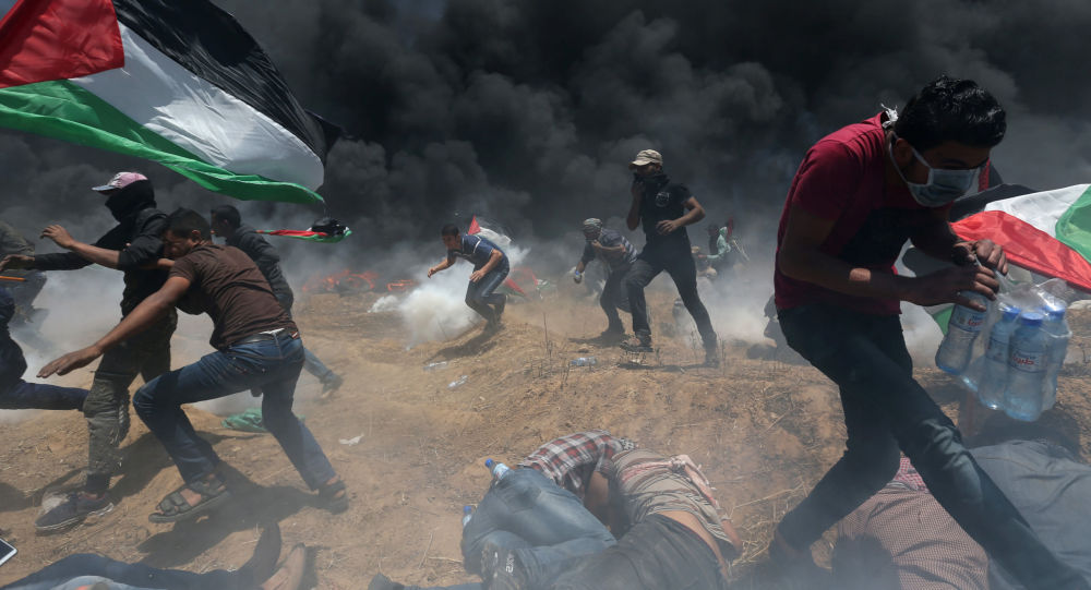Střety mezi Palestinci a Izraelci