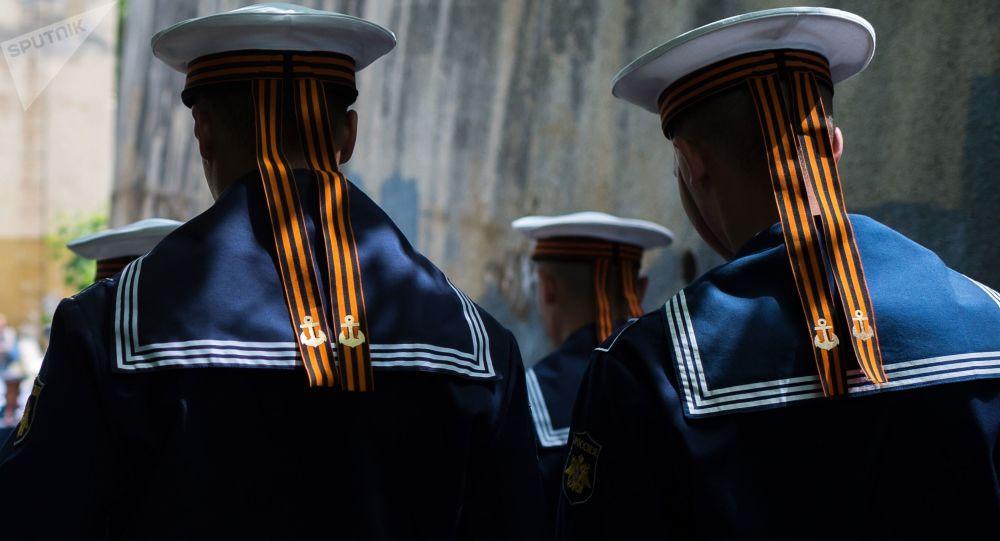 Příslušníci Černomořského loďstva
