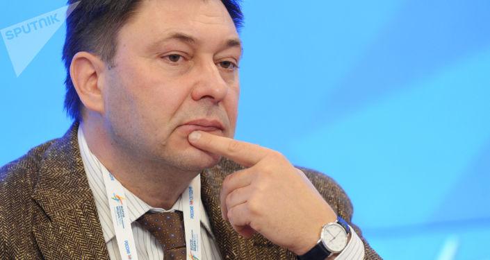 Šéfredaktor webu RIA Novosti Ukrajina Kirill Vyšinský