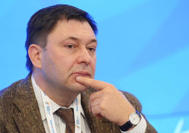 Šéf portálu RIA Novosti Ukrajina Kirill Vyšinský