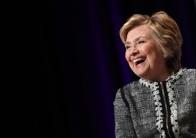 Bývalá kandidátka na amerického prezidenta Hillary Clintonová