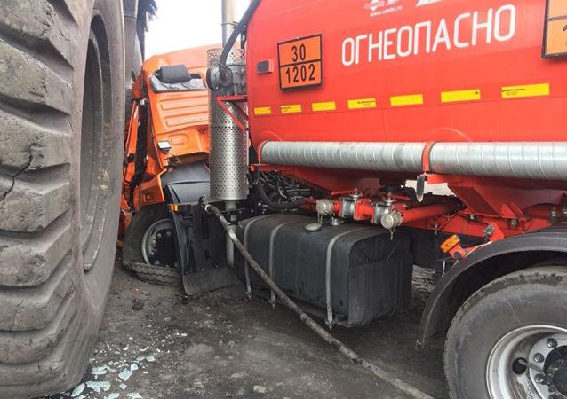 Dopravní nehoda v Kemerovu