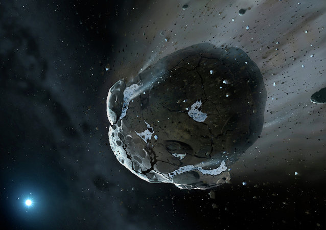 Asteroid. Ilustrační foto