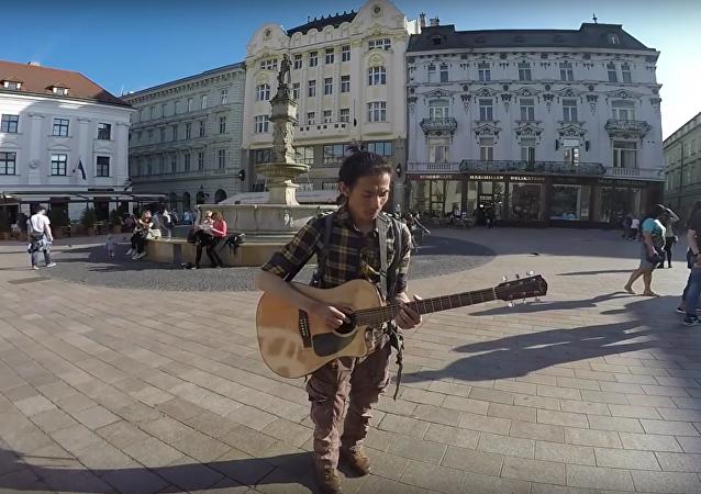 Slovensko křížem krážem očima Tchajwance (VIDEO)