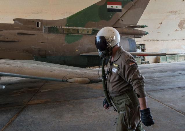 Syrská základna v Homsu
