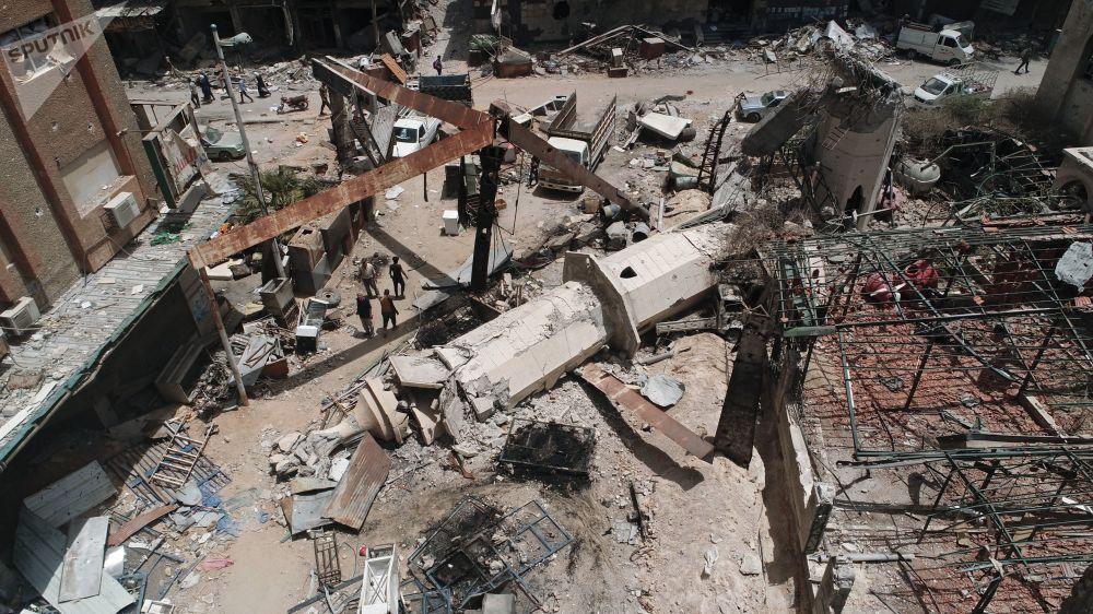 Tábor Jarmúk na jihu Damašku osvobozený od ozbrojenců