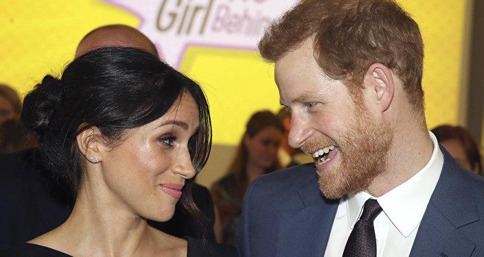 Prince Harry a Meghan Markleová