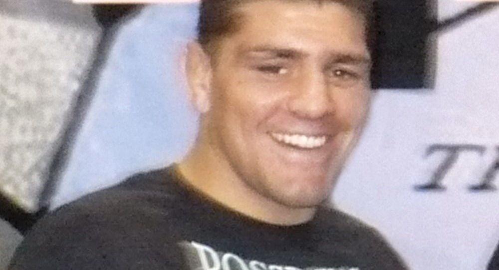 Americký bojovník smíšených bojových umění (MMA) Nick Diaz
