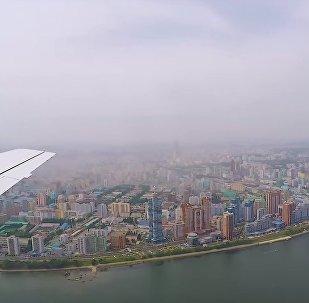 Jak vypadá Severní Korea z ptačí perspektivy, vzácné záběry
