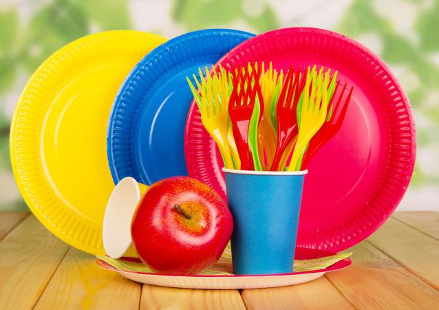 jednorázové plastové výrobky