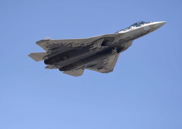 Vícefunkční stíhačka Su-57