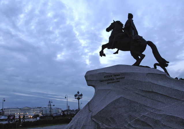 Socha Petra I. Velkého v Petrohradě