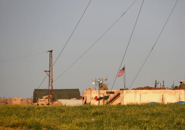 Základna USA v Manbidži