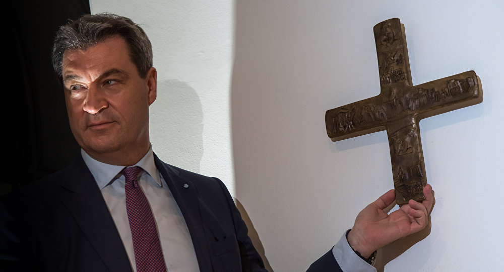 Premiér Bavorska Markus Söder