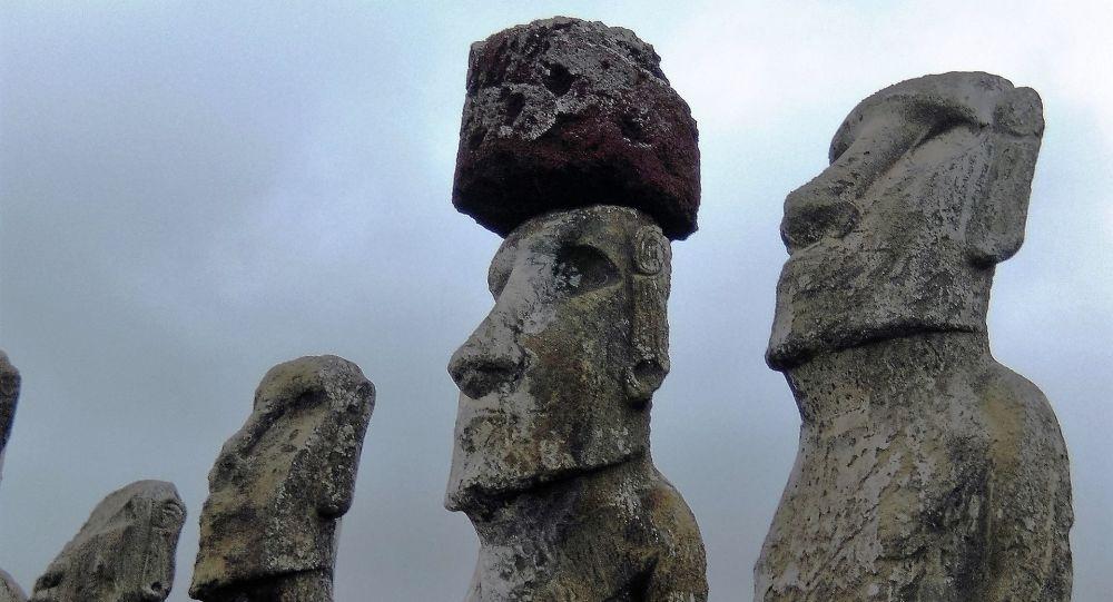 Sochy na Velikonočním ostrovu