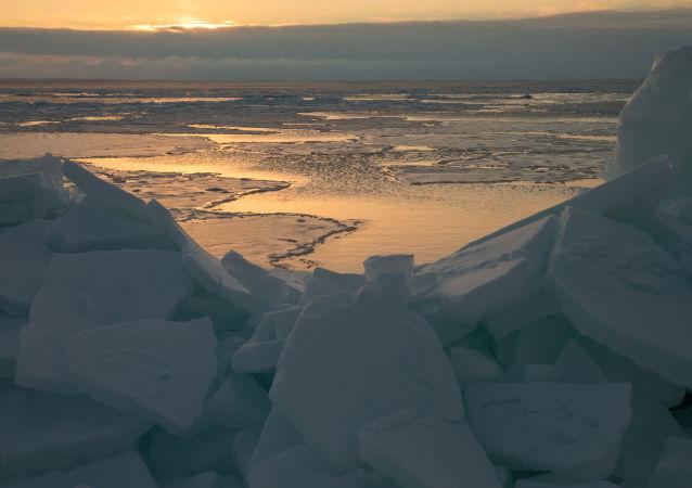 Ochotské moře. Ilustrační foto