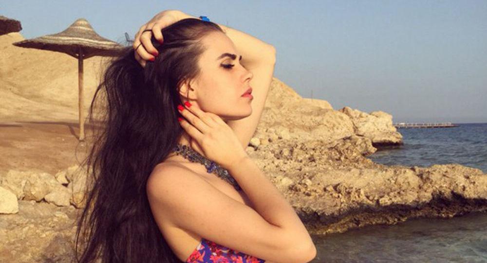 Ukrajinská modelka Vitalia Galljamová