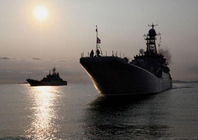 Ruské válečné lodě