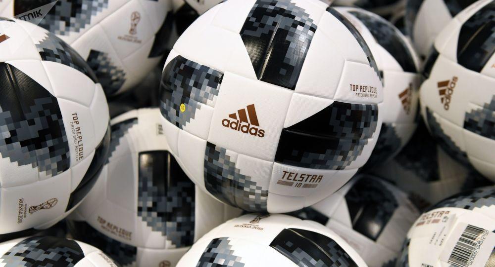 Fotbalové míče na MS 2018