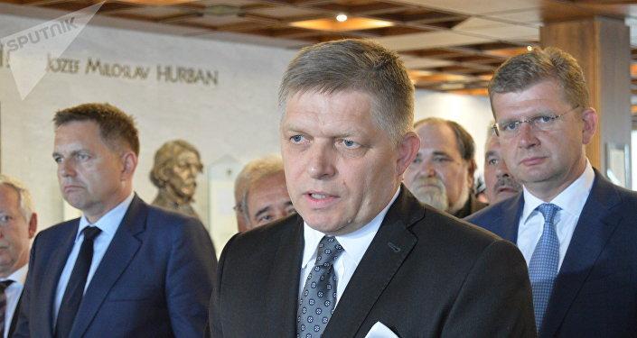 Bývalý slovenský premiér Robert Fico