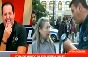 """Ruská babička """"zlomila"""" brazilského novináře"""