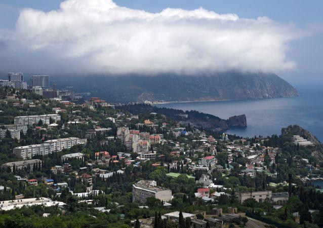 Hora Aju-Dag na Krymu