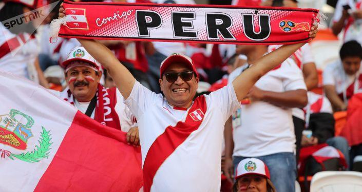 Fanoušek reprezentace Peru