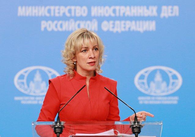 Oficiální mluvčí MZV RF Marie Zacharovová