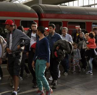 Syrští uprchlíci ve Mnichově