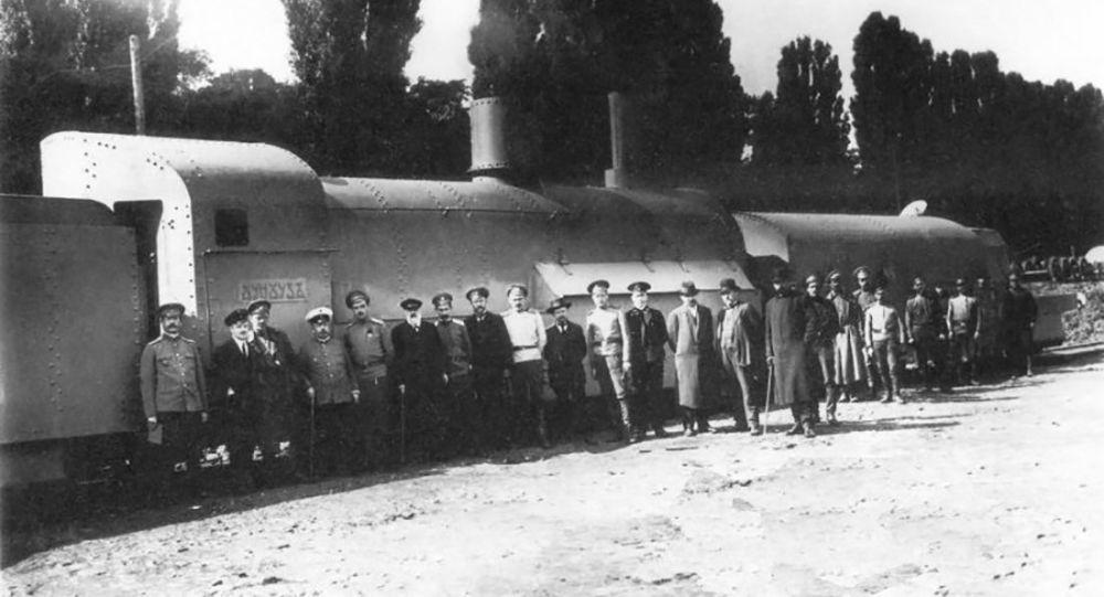 Obrněný vlak Chunchuz