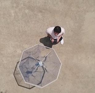 Co může bezpilotní deštník. Vynález japonských inženýrů