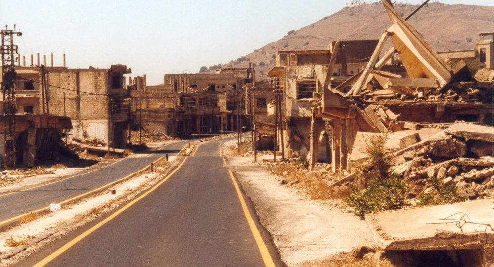 Trosky Kunejtry v Sýrii