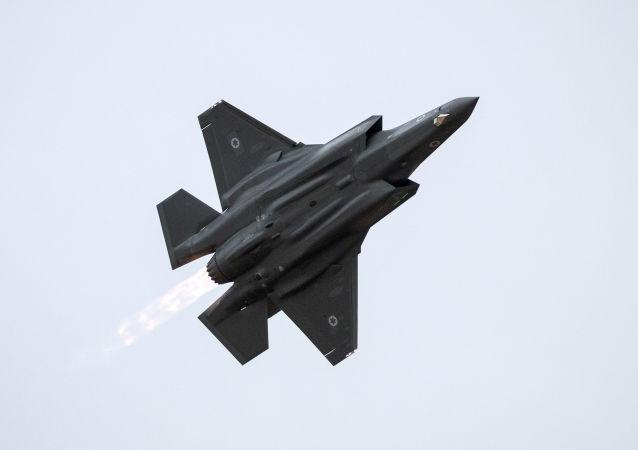 Izraelská stíhačka F-35 Lightning