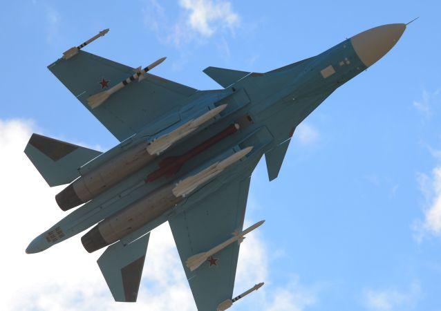 Su-34. Ilustrační foto