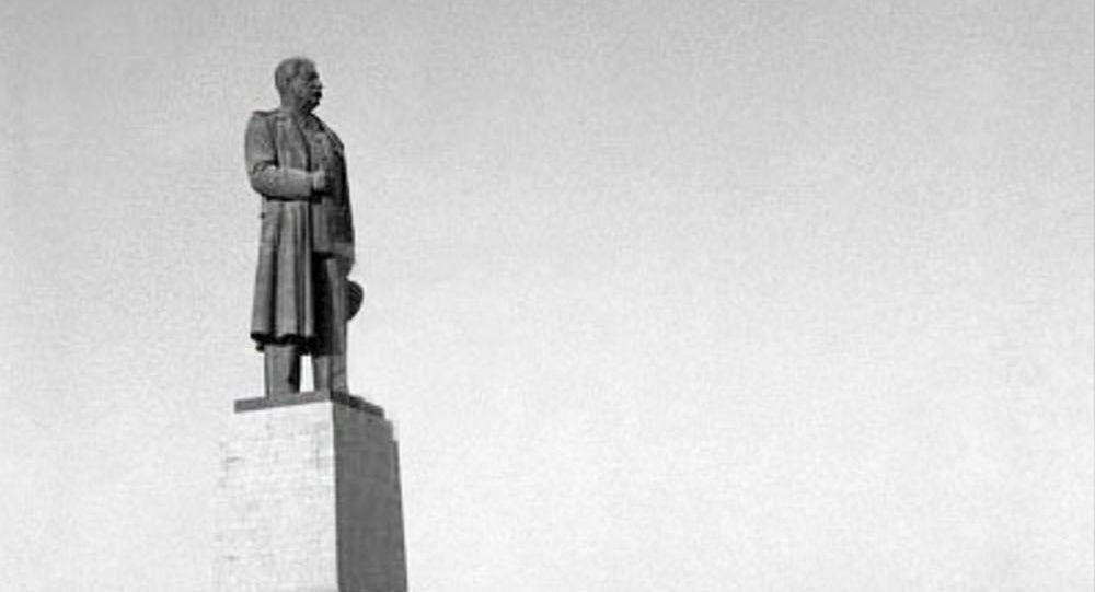 Pomník Stalinovi v Stalingradu. Ilustrační foto