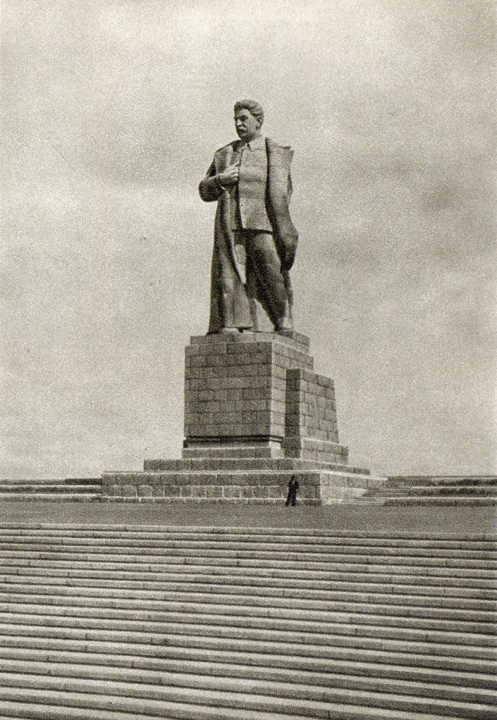 Pomník Stalinovi na území Moskevského průplavu