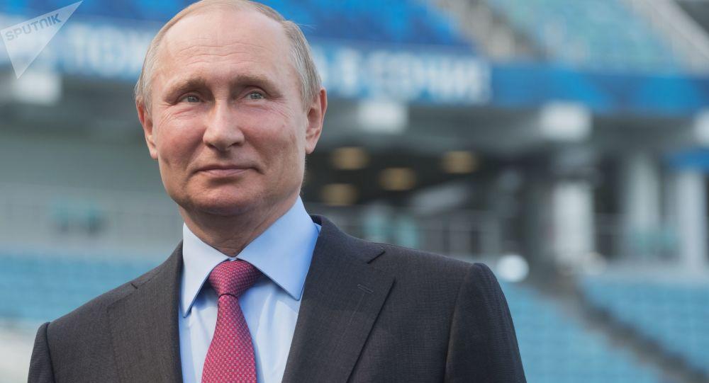 Ruský prezident Vladimir Putin
