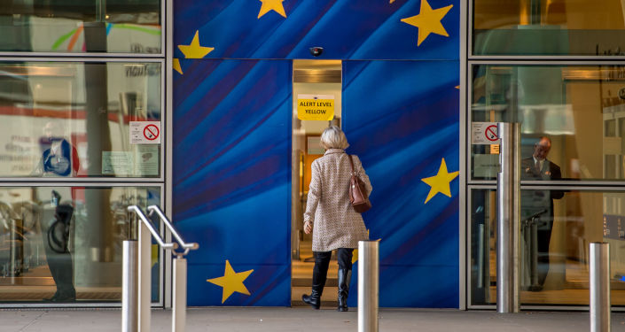 Budova EK v Bruselu