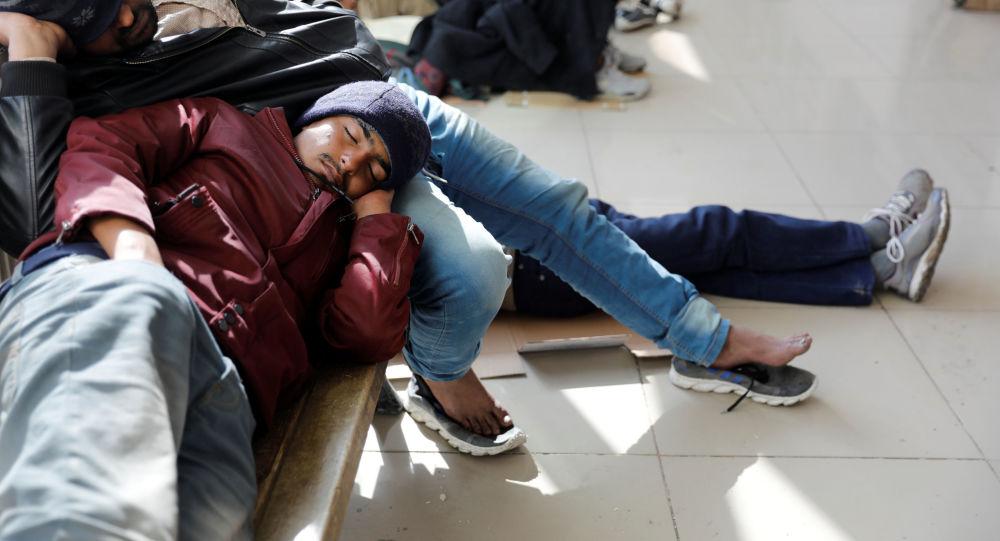 Afghánští migranti