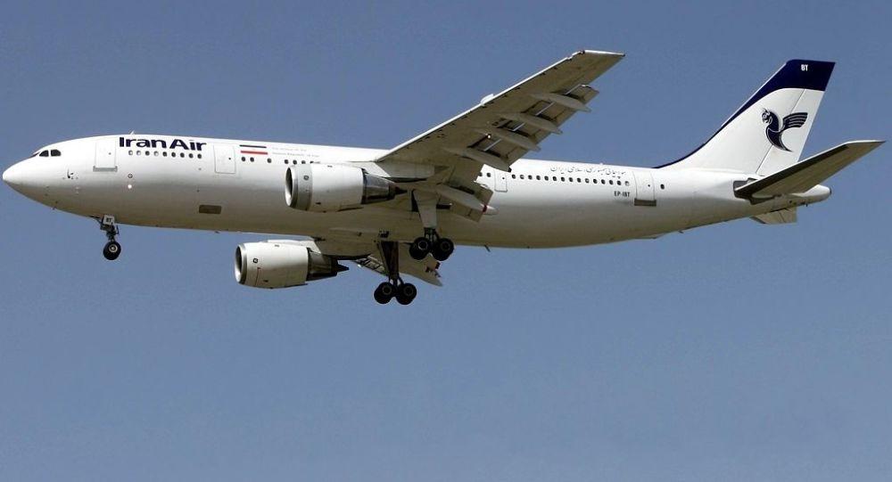 Íránské civilní letadlo Airbus A300B2