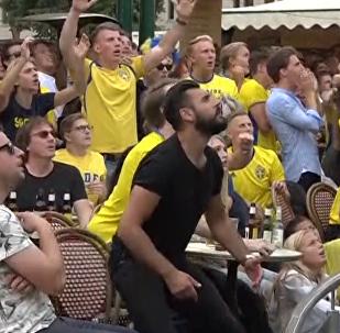 Nedokážu vyjádřit, jak moc jsem šťastný! Fotbaloví fanoušci oslavují vítězství svých týmů