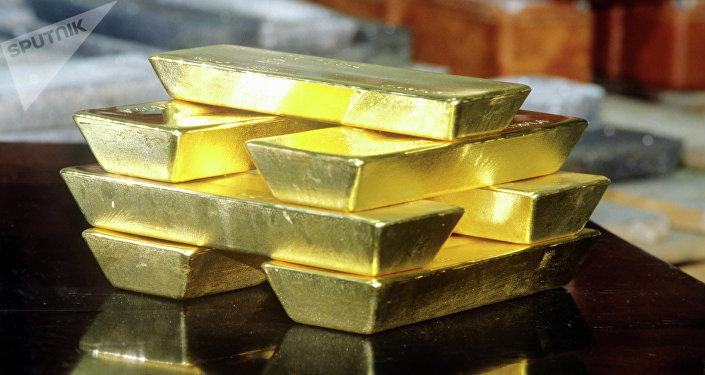 Zlaté slitky