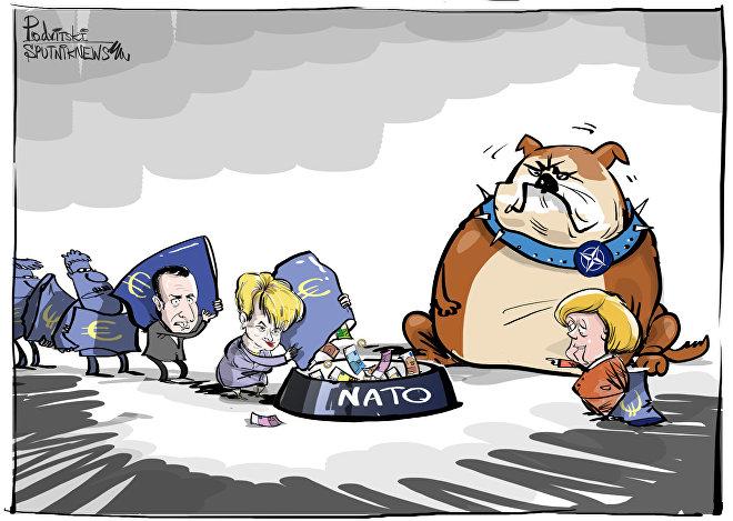 Nenasytné NATO
