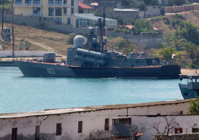 raketový člun projektu 1241 Molnija